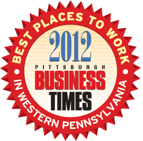 Pittsburgh Business Times Best Places to Work 2012